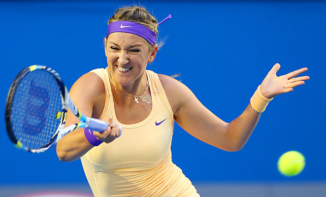 Victoria Azarenka is No. 1 for now, but Serena Williams has a clear path to the top spot over the next few weeks.
