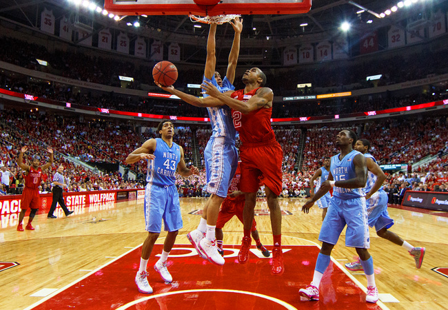 Lorenzo Brown helped NC State snap a 13-game skid to UNC, but they almost let it slip away.