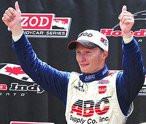 MIke Conway finished third in the Honda Indy Toronto last season.