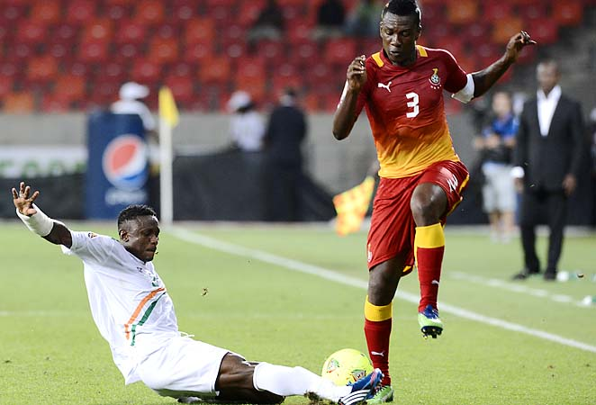 Asamoah Gyan and Ghana beat the U.S. out of the last two World Cups.
