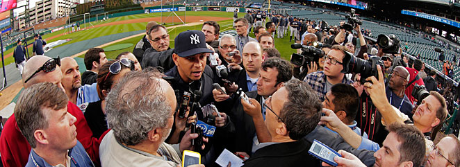 Alex Rodriguez once again finds himself at the center of a storm surrounding steroids, and he will have to answer questions about it.