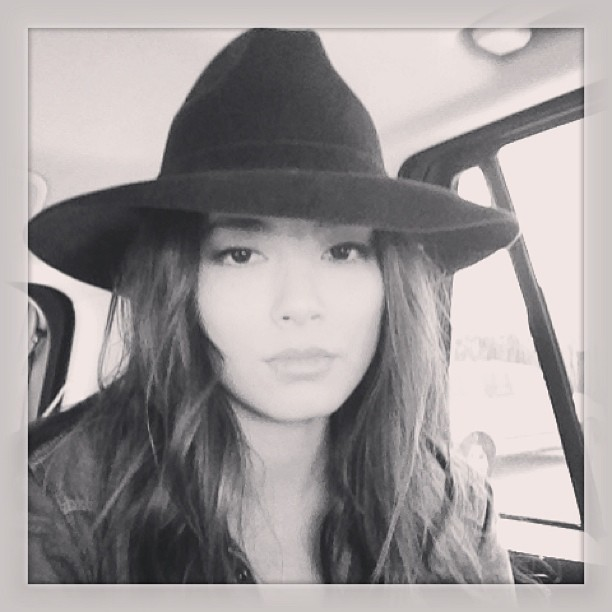 Gucci fedora I adore! And that's a wrap @maraandmine. Xo