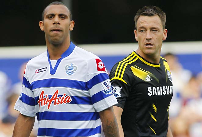 Anton Ferdinand (left) is best known for his row with John Terry.