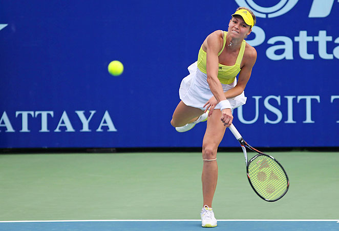 Maria Kirilenko is the top seed left at the Pattaya Open after Ana Ivanovic's loss.