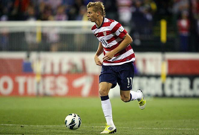 U.S. national team midfielder Brek Shea appears headed to Stoke City.