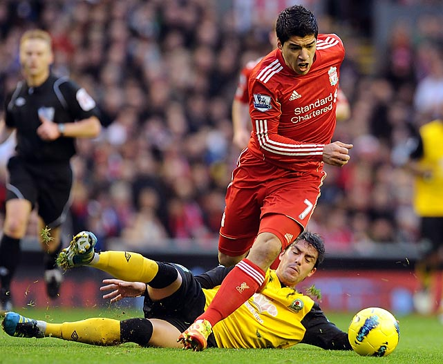 Whereas the Carroll deal was bad business, the Luis Suarez deal was not -- at least from a soccer standpoint. The Uruguayan striker has since scored 40 goals for Liverpool in all competitions. Still, the club must wonder if he has been with the trouble, with Suarez having been accused of racism and constant diving.