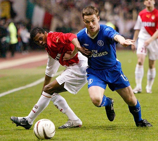 Chelsea bought the hard-tackling, 23-year-old midfielder from Charlton Athletic but rarely sent him on to the pitch. Despite his limited playing opportunities at Stamford Bridge, Parker was named the PFA Young Player of the Year at the end of the 2003-04 season. He was sold to Newcastle in July 2005 for �6.5 million.