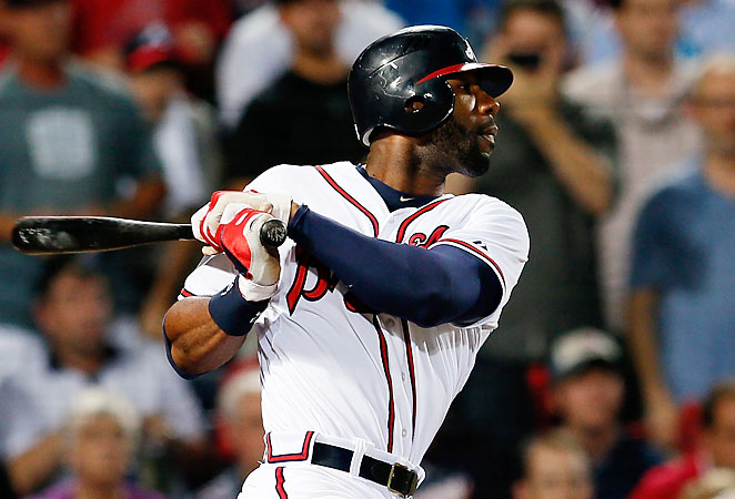 Jason Heyward will get more protection in the Braves lineup with the additions of Justin and B.J. Upton.
