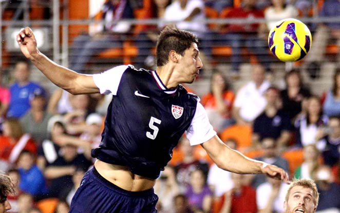Omar Gonzalez was one of the few U.S. players to have a solid match against Canada on Tuesday.