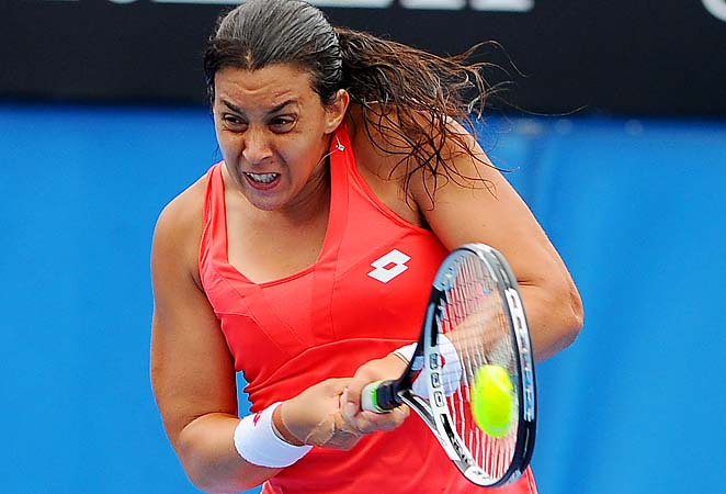 Marion Bartoli was upset in the third round of the Australian Open.