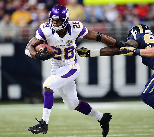 You may not believe it, but yes, running backs earns less than kickers and punter on average. Though typically among the stars of the team, running backs typically have short shelf lives and pose high injury risks that can make franchises balk at high-salary guaranteed contracts. Only the Minnesota Vikings' Adrian Peterson and the Oakland Raiders' Darren McFadden haul in eight figures on average. Any Vikings fan would say Peterson's $13.7 million was money well spent this season.