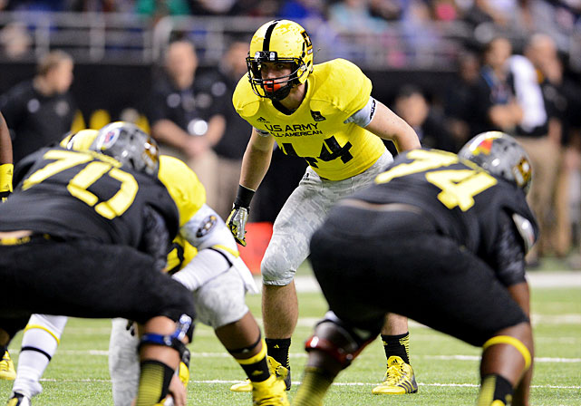The Plano, Texas, product was one of the standout performers at this year's U.S. Army All-American Bowl. He pledged to Urban Meyer and the Buckeyes on Jan. 5.