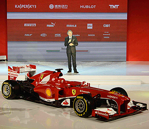Ferrari hopes the new F138 car will end the team's four year slump without a Formula One title.