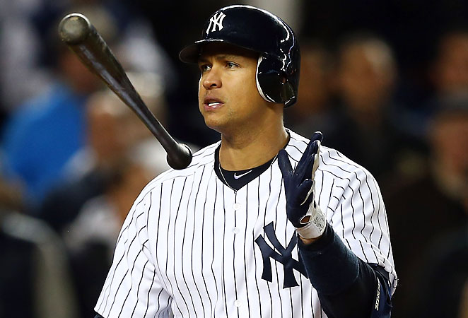 An offseason that included surgery and a PED controversy has sunk Alex Rodriguez's fantasy value.