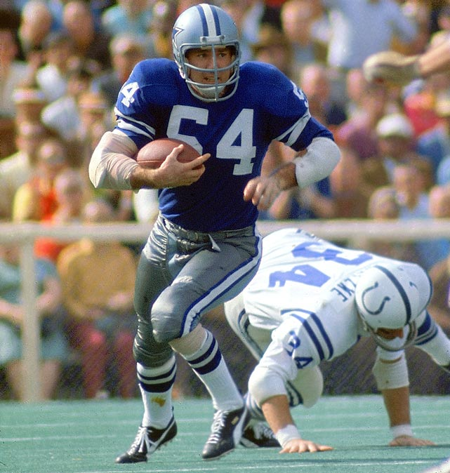 The first non-quarterback to win MVP, Howley made his case with two picks and a forced fumble in a low-scoring game where defense was key.