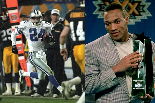 Once again trailing, this time in the third quarter, Brown stepped up to put the Cowboys right where they wanted to be, snatching picks in the third and fourth quarter and returning them to the Red Zone. Emmitt Smith finished both, making Dallas the second team (after the 49ers) to win five Super Bowls.