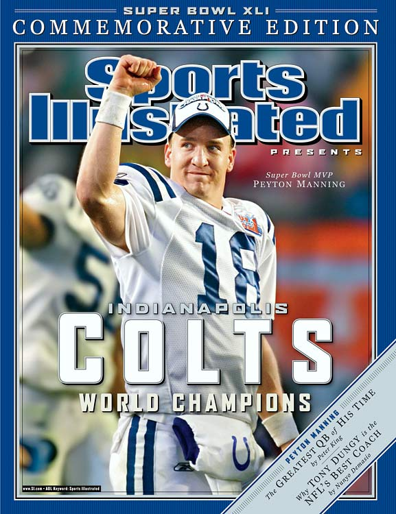 He had to come from behind to do it, but Peyton finally got the championship that would silence his doubters. Throwing for one touchdown and 247 yards, he picked apart a Bears team that stood between him and his destiny.