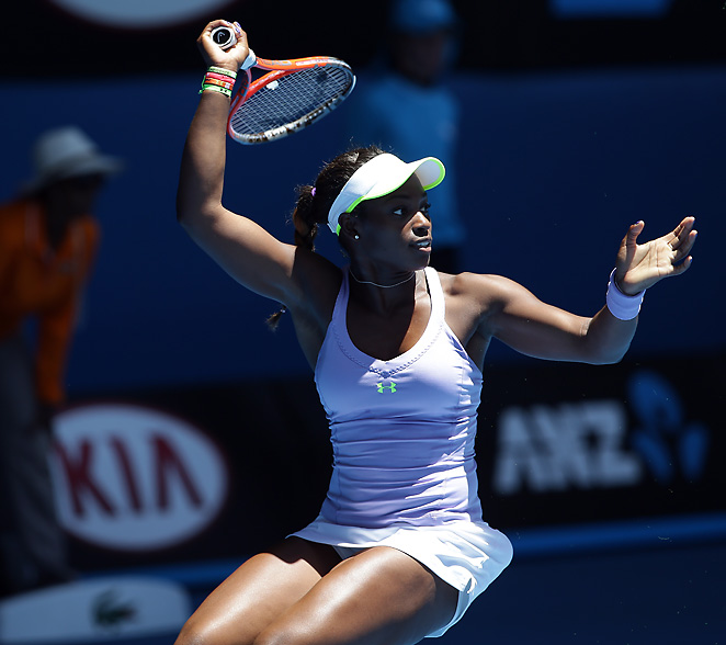Australian Open semifinalist Sloane Stephens will miss the Fed Cup in Rimini, Italy with an abdominal injury.