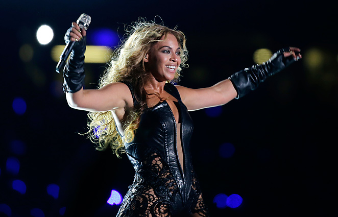 Beyonce sang six songs during her Super Bowl halftime performance.