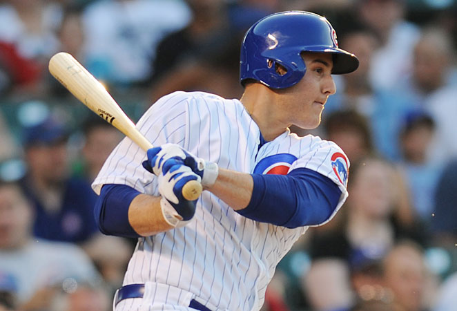 Anthony Rizzo put together a 15-homer, 48-RBI campaign in 87 games with the Cubs last season.