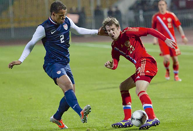 Timmy Chandler will be cap-tied to the U.S. if he plays against Honduras on Wednesday.