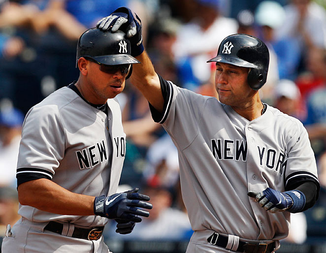 Alex Rodriguez and Derek Jeter are entering their 10th season as teammates.