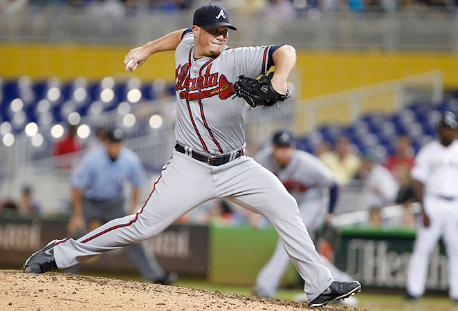 Craig Kimbrel has saved 88 games and struck out 243 batters over the past two seasons for the Braves.