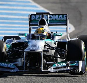 Lewis Hamilton has yet to complete a competitive lap in testing due to mechanical issues.