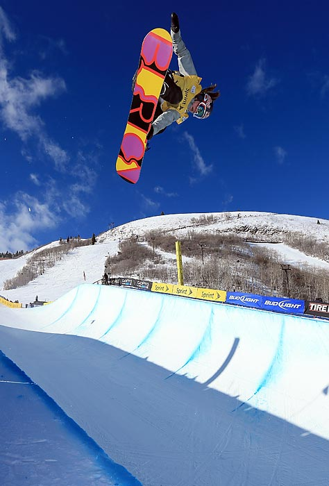 Gold, 16, the other American hoping to be the first 'Gold' to compete in the Olympics. She's the reigning snowboard halfpipe world champion.