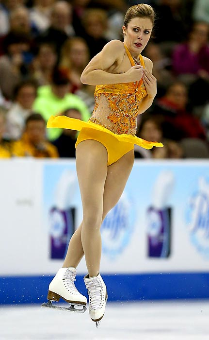 Wagner was third at the 2010 Olympic trials, where the top two made the Vancouver team. She's since become the class of U.S. ladies figure skating and is a medal contender.