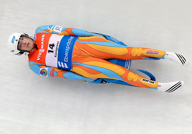 Clukey ended Erin Hamlin's streak of five straight national titles last fall. The U.S. has never medaled in singles luge. Clukey was ninth at the recent world championships.