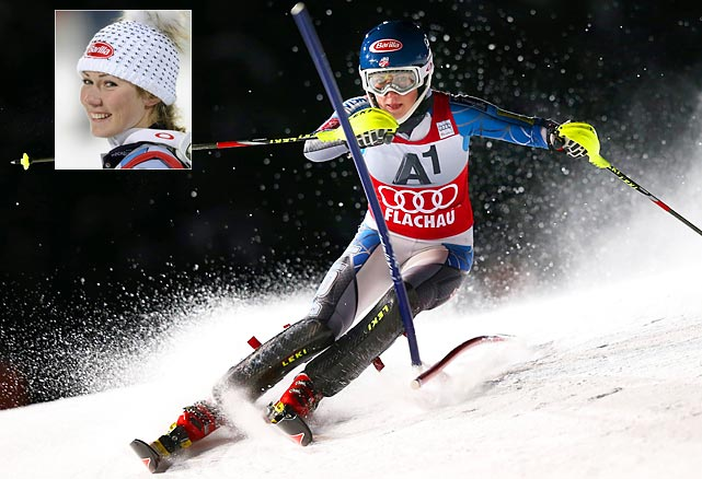 Shiffrin, 17, was already being groomed as the next U.S. female Alpine skiing star. That process may accelerate with Vonn's injury. Shiffrin could be the gold-medal favorite in the slalom.