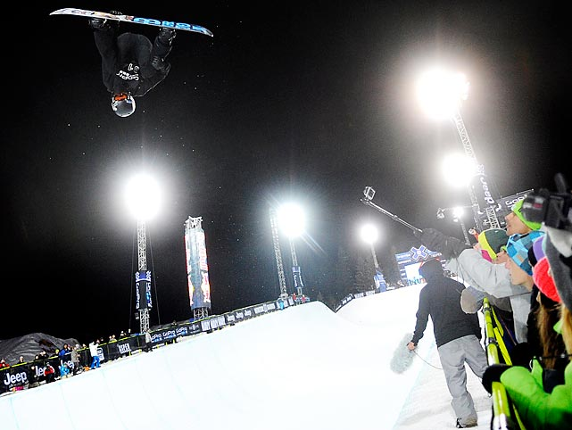 White will not only be going for his third straight Olympic halfpipe title, he also plans on entering the new event of snowboard slopestyle.