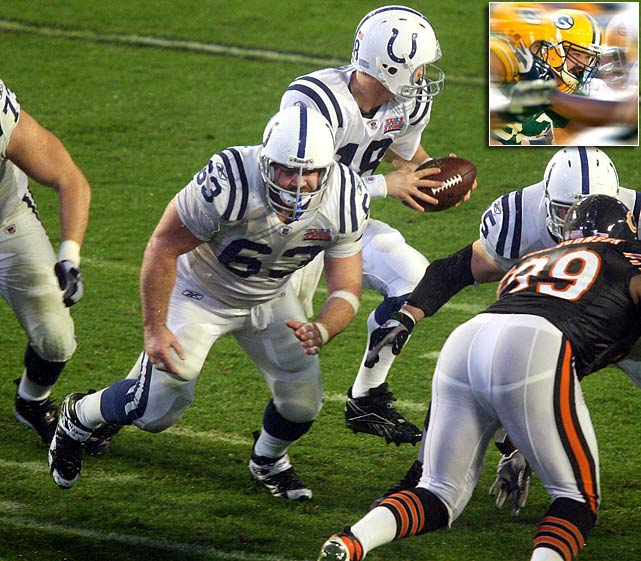 Colts center Jeff Saturday (who played his final season for the Packers in 2012) retired on March 7. Originally snapped up by Indianapolis as an undrafted free agent in 1999, Saturday ranks among the best such signings NFL history. He played in five Pro Bowls and was twice honored with first-team All-Pro recognition. His off-the-field work with the NFL Players' Association made him one of the most respected players in the game.