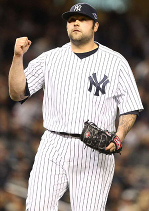 Joba Chamberlain reached out to his new teammate Kevin Youkilis.
