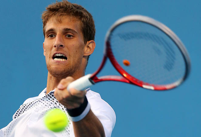 Martin Klizan looks to rebound from a disappointing first-round exit at the Australian Open.
