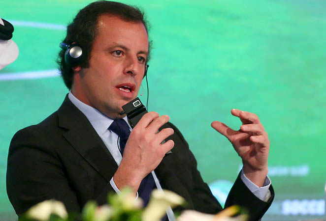 "Sandro Rosell says the ECA believes ""in principal'' the tournament in the Gulf nation of Qatar should take place in the summer."