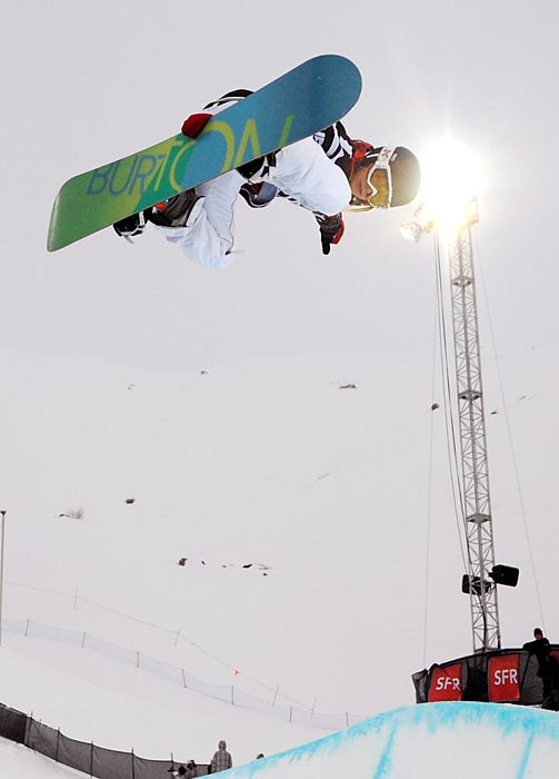 Teter won the 2006 Olympic title and silver in 2010. She'll be fighting teammates Arielle Gold, Gretchen Bleiler, Kelly Clark and Elena Hight for one of four Olympic spots.