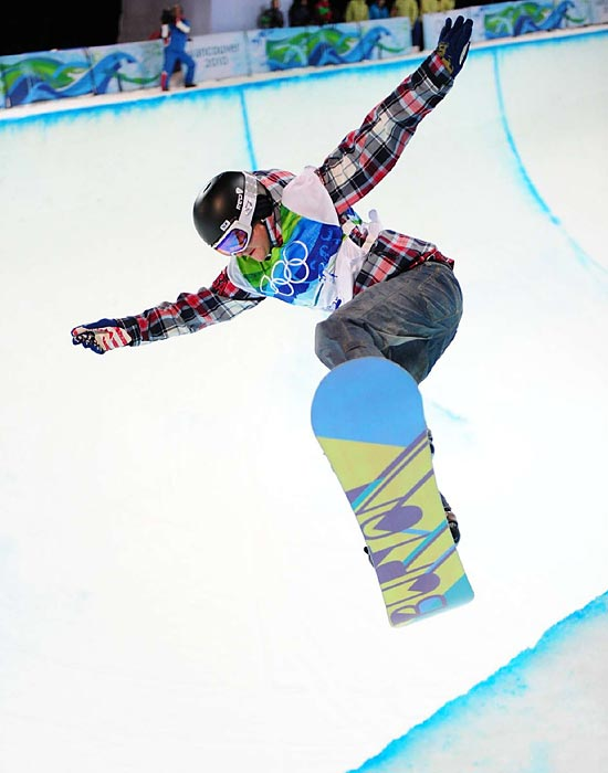 Clark, known for her big air, won Olympic gold way back in 2002 and bronze in 2010. Since the Vancouver Game, she's won back-to-back-to-back X Games titles.