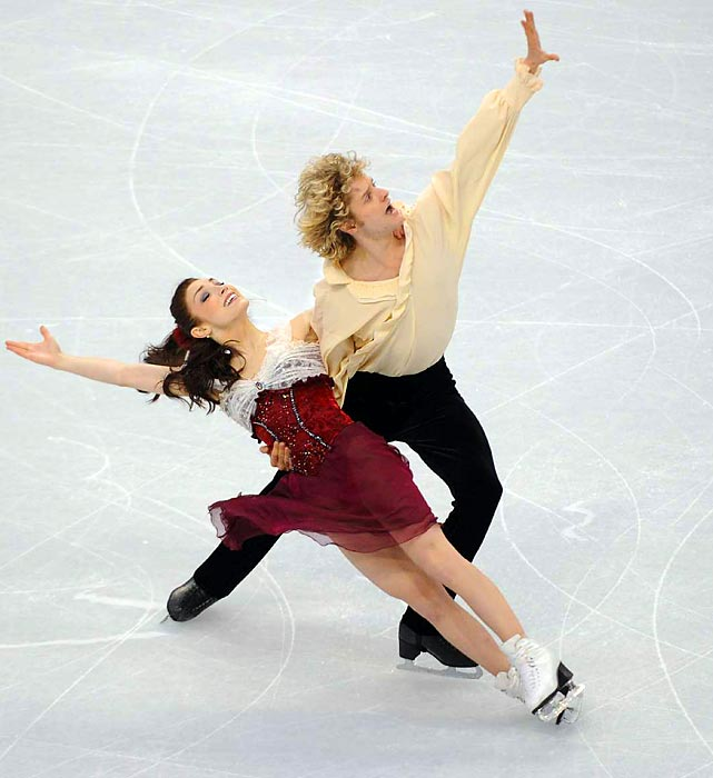 Davis and White claimed their fifth consecutive U.S. ice dancing title this year, and will likely battle Canada's Tessa Virtue and Scott Moir for the Olympic gold medal.