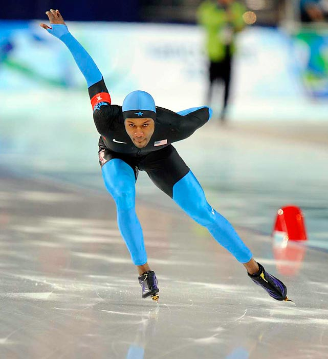 In 2006 speedskater Shani Davis took gold in the 1000m event, and became the first black athlete from any nation to win an individual gold medal at the Winter Olympics. In 2010 he defended that title. Can he do it three Games in a row?