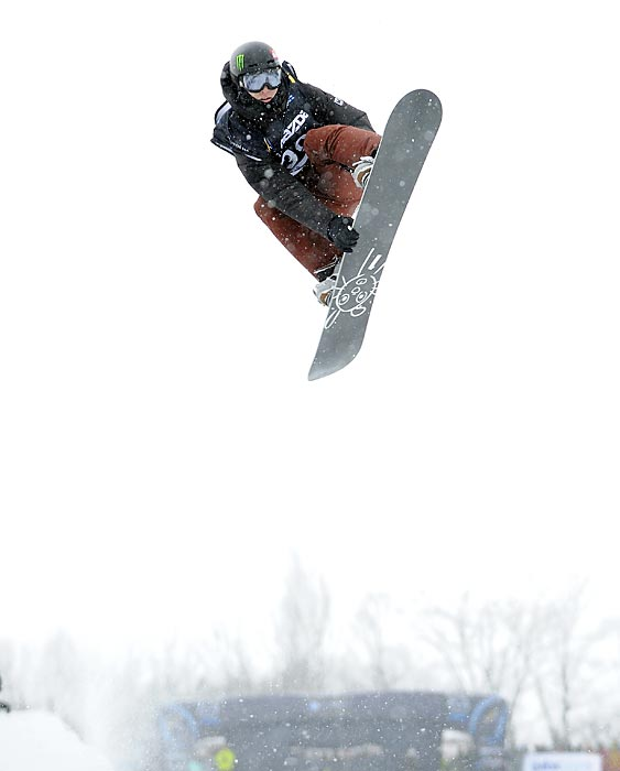 Podladtchikov won the snowboarding halfpipe world championships in 2013, putting him on track for his first Olympic medal in 2014.