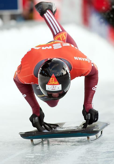 Dukurs finished second in the skeleton at the 2010 Olympics, but has since won four straight European Championships (2010-2013). Look for him to fight for the gold in Sochi.