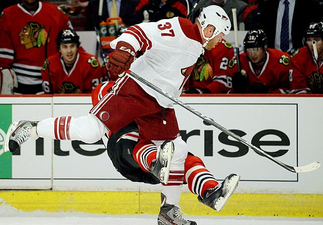 Now that Matt Cooke has reformed his game, Torres might be hockey's most dangerous cheap-shot artist. Free to wreak havoc again after serving out the 21-game suspension he earned last spring after nearly decapitating Marian Hossa, he's due to leave his feet for a late hit any day now.