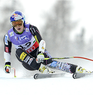 Neither Lindsey Vonn nor Bode Miller, two of the U.S.' best downhill skiers, are competing in the world championships this year.