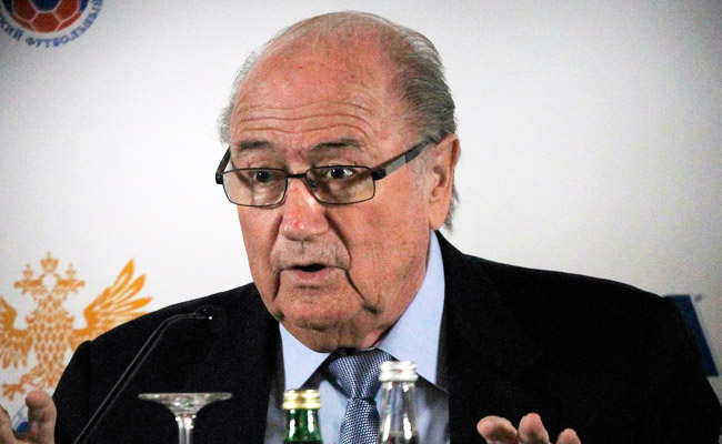 Sepp Blatter said most of the highlighted suspicious soccer matches had already been dealt with.