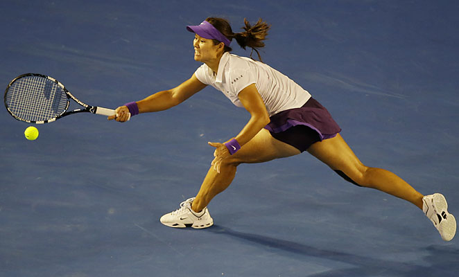 Li Na lost in the final of the Australian Open to Victoria Azarenka.
