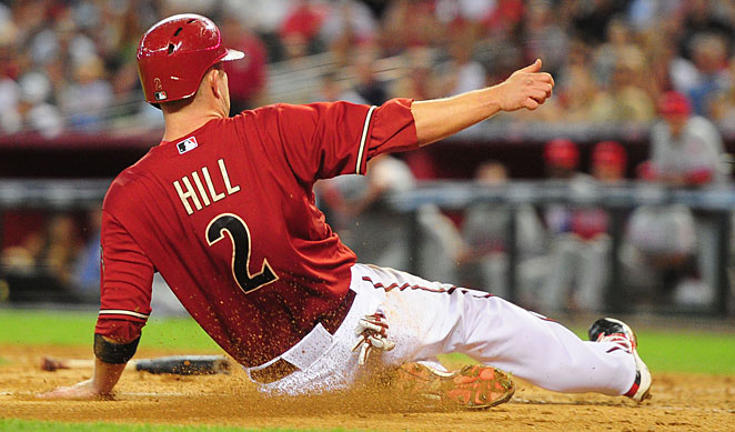 Aaron Hill will make $35 million over the next three seasons from Arizona.