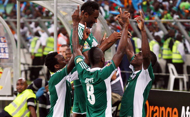 Nigeria won its Africa Cup of Nations semifinal match against Mali and will face Burkina Faso in the final.