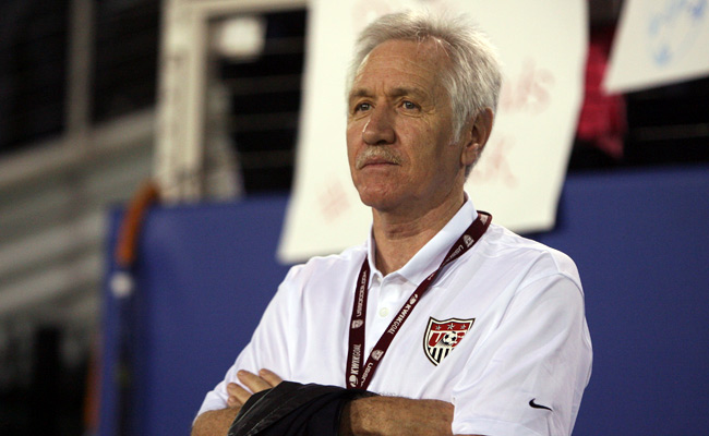 Tom Sermanni was hired to be U.S. women's national team's manager in October.